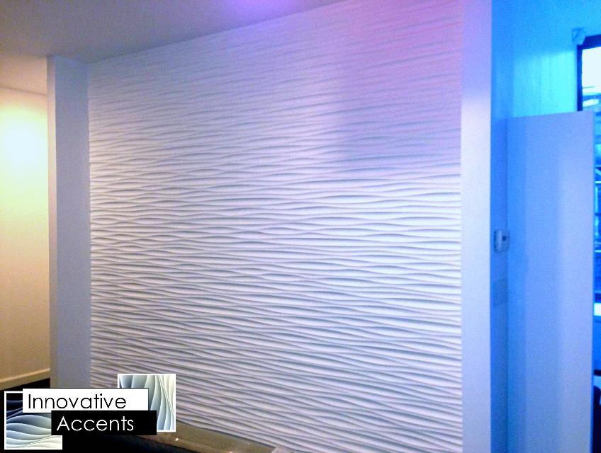 3D Wall Panels, Wave Wall Panels, Sculpted Wall Panels, Wall Panel