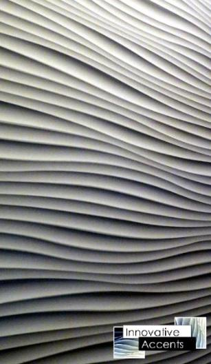 wavy wall panel, wavie wall, wavy wall, wave dry wall