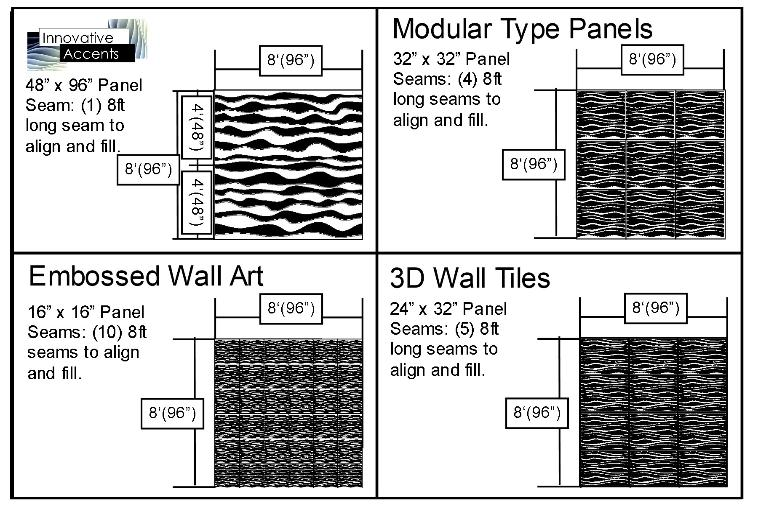 There are many things to consider when looking for 3D Sculpted Paneling. Style design cost are foremost on the minds of most clients.  sc 1 st  Innovative Accents & 3d Wall Panels